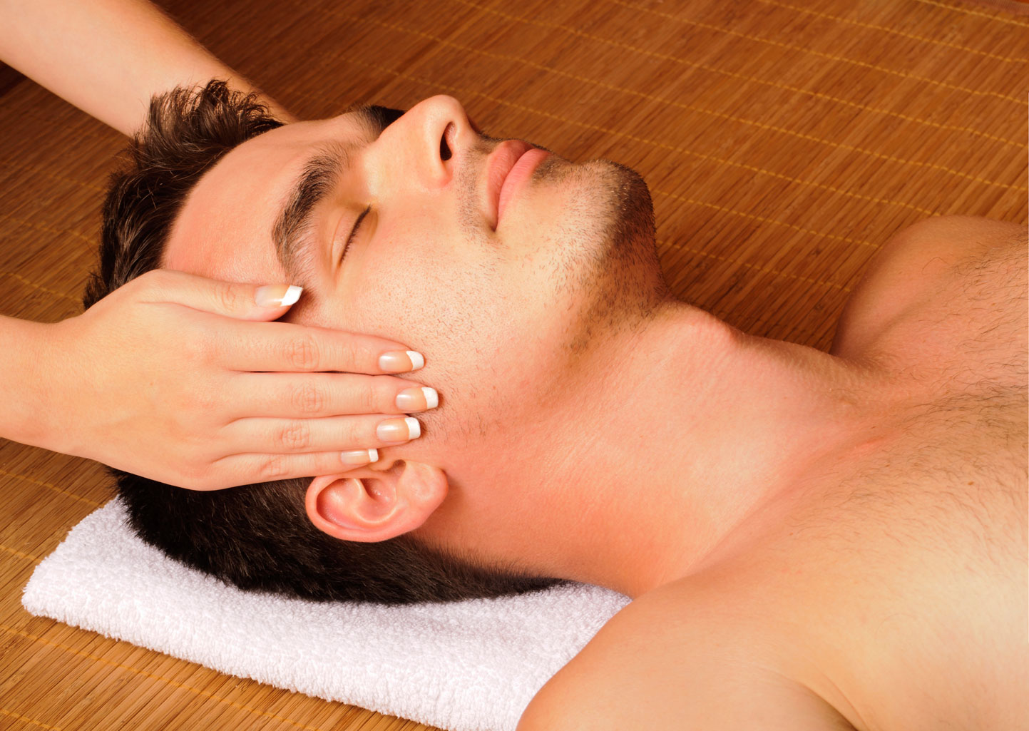 Massages and facials to combat solar damage on skin